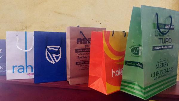 Cotton Handle Paper Carrier Bags